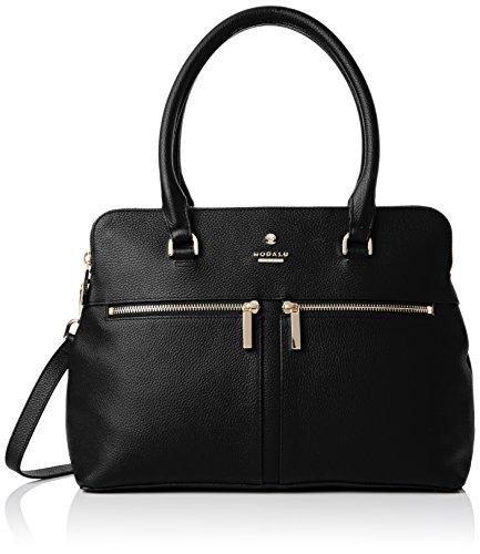 Modalu - Pippa - Sacs portés main - femme - Noir (Black) - Taille unique