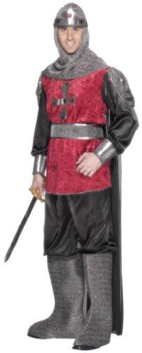 Smiffy's - Disfraz de caballero medieval para hombre, talla M (38 - 40) (SM31686-M)