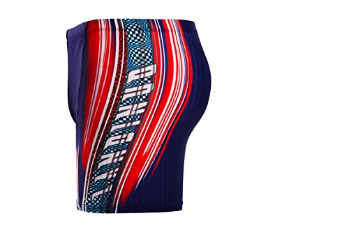 Demarkt Summer Homme Shorts De Bain Boy's Maillot De Bain Beach Surf Swimwear Sport de Plein Air Taille Asiatique Bleu38