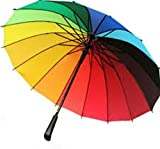 Sri baba creators Multicolor Stick Umbrella