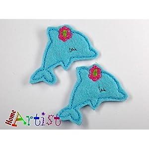 Delfin Haarspange für Kleinkinder - freie Farbwahl