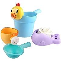 Dingcaiyi Baby Bath Toy Baño Jugar Water Shower Funny Early Education Aclaración Teaching Aid Rain Nube