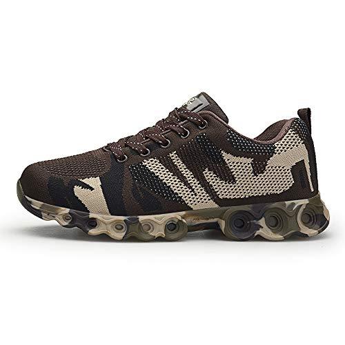 Quaan Beiläufig Männer Mode Schuhe Gemütlich Weich Schnüren Sneaker Männer Tarnung Schuhe Draußen Wanderung Jahrgang Schuhe Klassisch Sport Draußen Reise Rutschfest Atmungsaktiv Schuhe
