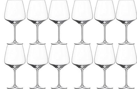 Schott Zwiesel TASTE Red Wine Glasses Burgundy (Pack of 12)