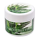Florex Bodybutter Aloe Vera mit biologischer Schafmilch für intensive Feuchtigkeit bei trockener...