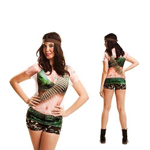 ng costumes230031Warrior Girl Short Sleeve T-Shirt (klein) ()