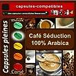 100 capsules compatibles Nespresso® Séduction