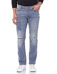 Calvin Klein Mens Skinny Jeans (036182019875_4ASAC17_36W x 32L_Blue)