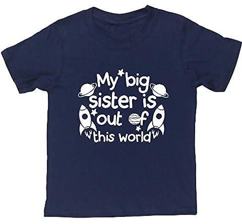 HippoWarehouse - T-shirt - Fille 6 ans - bleu - 6 ans