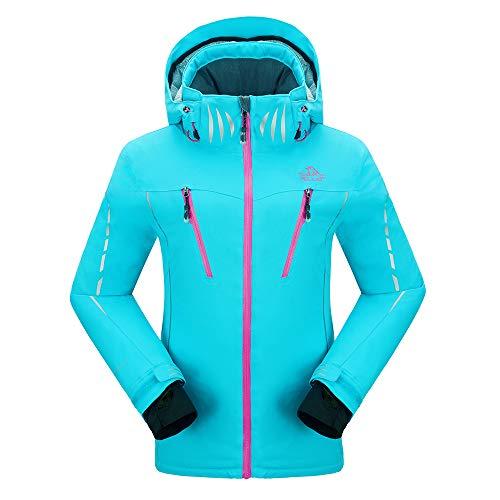cke Winddichte Verdickte Snowboard Breathable Skijacke, Gr.-XXL,  Blau ()