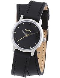 Nixon Damen-Armbanduhr XS Analog Quarz Leder A403000-00