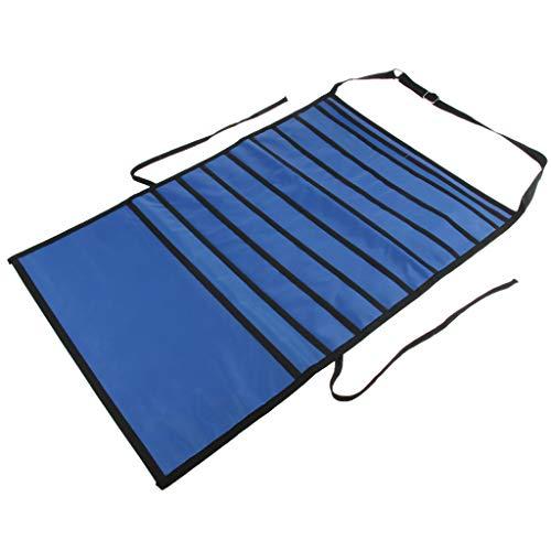LOVIVER Desk Pocket Organizer Nacht Aufbewahrungstasche Oxford Cloth Book Student School - Blau