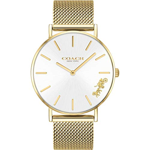 Coach Womens Perry Gold Mesh Bracelet 14503125