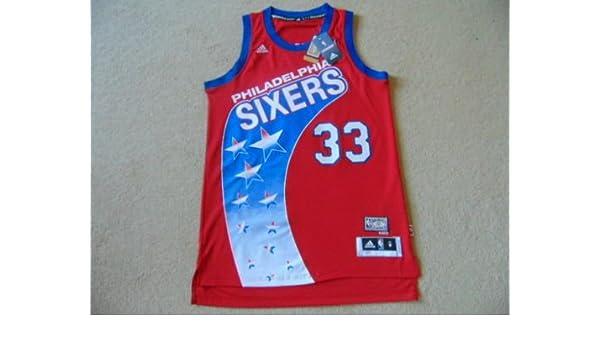 a94bff17ef3 Philadelphia 76ers Adidas Hardwood Classics Swingman NBA Basketball Jersey  - Bynum  33 - Mens Medium NWT  Amazon.co.uk  Sports   Outdoors