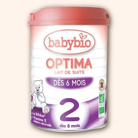 Babybio 2 optima dès 6 mois 900g - ( Prix Unitaire ) - Envoi Rapide Et Soignée