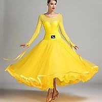 Perspective Engrener Épissure Femmes Robe de Danse Moderne Exécution Lait  de Soie Tulle Grande Balançoire Robes 9da67ee1342