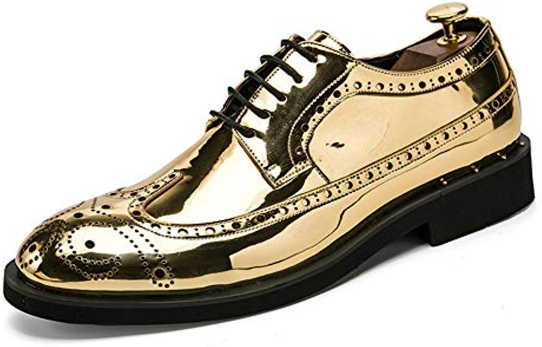 Yajie scarpe store, Scarpe da uomo brogue in pelle con