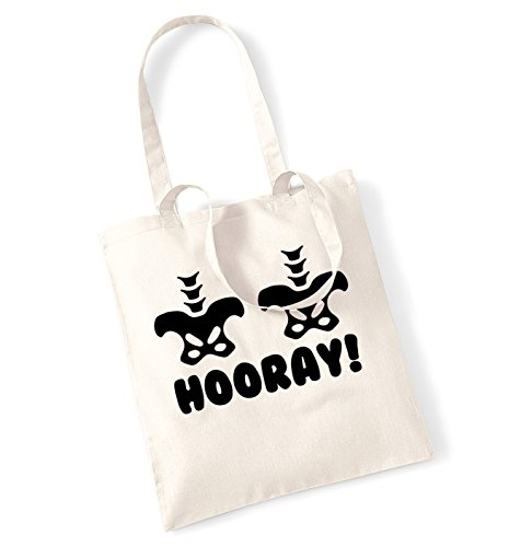 hip hip hooray Tote bag