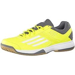 adidas Counterblast 3zapatillas de balonmano Gelb/weiß/grau Talla: 13.0UK–48.2/3EU