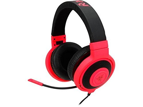 Razer Kraken Pro Over Ear PC Gaming and Music Headset - Neon Red  available at amazon for Rs.22350