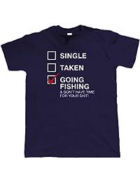 Vecteur bombe, Going Pêche, Hommes Drôle pêche T-Shirt (S à 5XL)