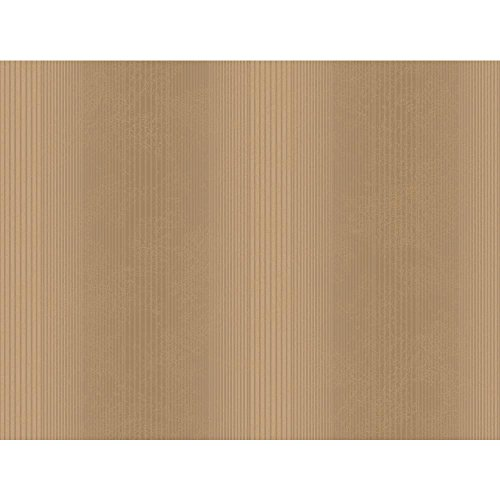 York Wallcoverings Metallic Buch Bunte Nadelstreifen Tapete, Brown .118, Wallpaper (Linien Tonale)
