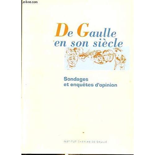 De Gaulle en son siècle : Journées internationales tenues à l'UNESCO, Paris, 19-24 novembre 1990 (Espoir)