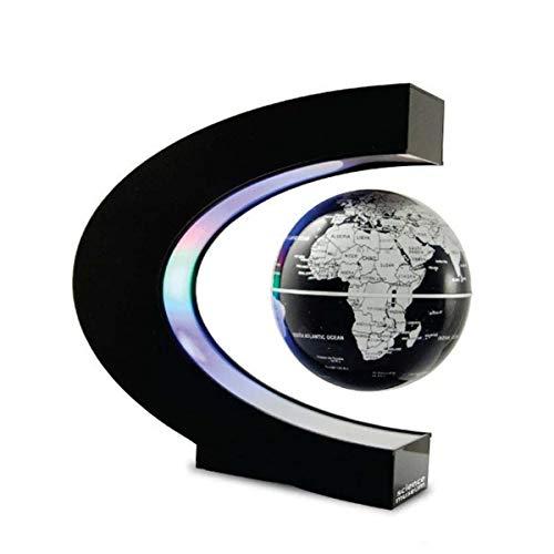 FAY Globo Mondiale a Sospensione a Forma di C, Globo Girevole educativo (Luce a LED), Globo interattivo a Realtà Aumentata per Bambini, Giocattolo per età Bambino a 10 Anni