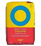Blue Circle Fertig-Beton für Pfosten, 20kg Sack, gebrauchsfertig, nur Wasser hinzufügen