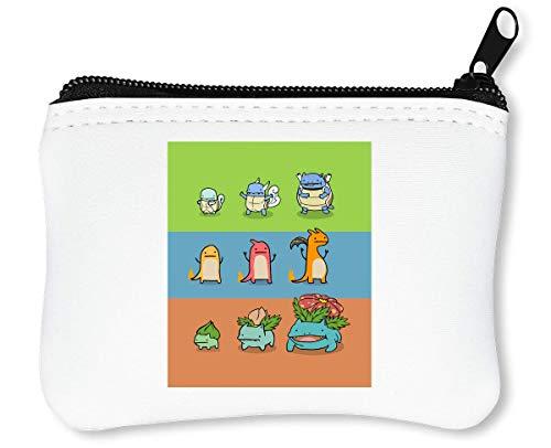 Great Evolution | Anime Series | Popular Manga | Pokemon Ball | Pokemon Go | Cool T Shirt | Nice to | Super Reißverschluss-Geldbörse Brieftasche Geldbörse