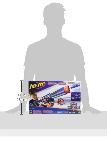 Nerf N-Strike Elite Spectre REV-5 Blaster [UK Import] - 3