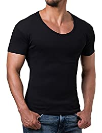 Young and Rich - Tee shirt homme fashion Tee shirt 874 noir col rond - Noir