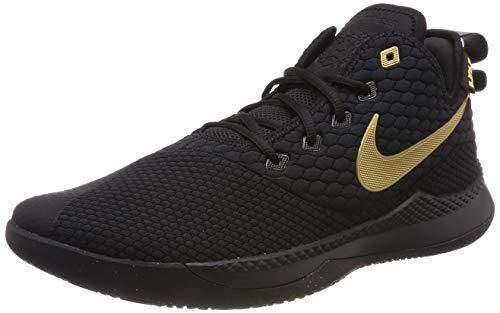 Nike Herren Lebron Witness 3 AO4433-003 Basketballschuhe, Schwarz (Black, 47 EU
