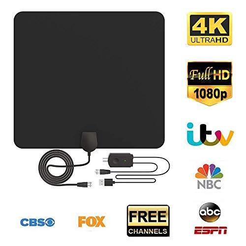 Antena TV, Antena Interior HDTV Portatil Amplificador