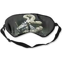 Sleep Eye Mask Animals Snake Gun Lightweight Soft Blindfold Adjustable Head Strap Eyeshade Travel Eyepatch preisvergleich bei billige-tabletten.eu