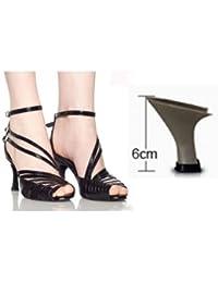 XHX Feine bestickte Schuhe, Sehnensohle, ethnischer Stil, weibliche Schuhe, Mode, bequem, Tanzschuhe Sandalen , red , 39