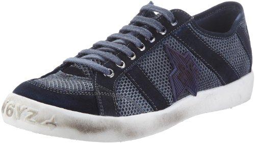 Wyzz Skater Laces 2004726, Chaussures de marche homme Bleu-TR-D1-62