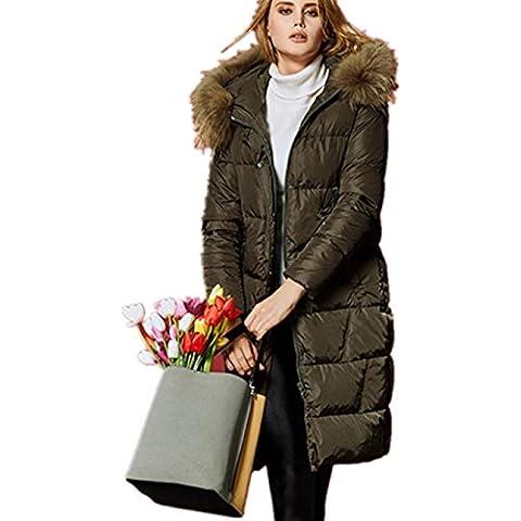 XYXY Spessore caldo giacca invernale giù cappuccio