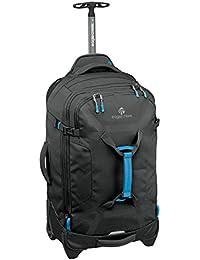 Eagle Creek Erweiterbarer, leichter Rollkoffer Load Warrior™ International Carry-On Reisetasche mit hochbelastbaren Rollen, 39 L, black