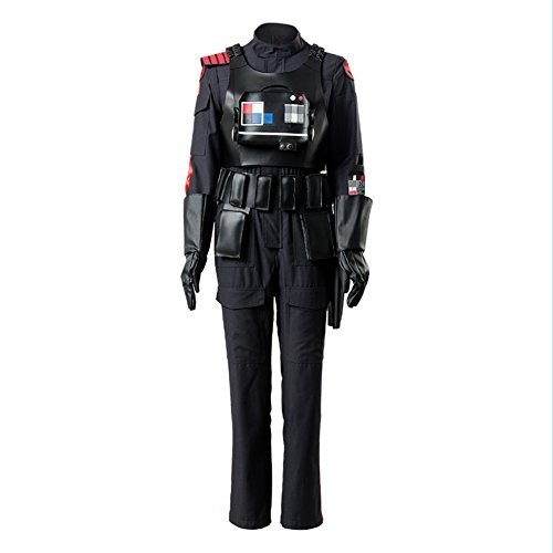 Star Wars Battlefront 2 II Iden Versio Inferno Squad Imperial Soldier Officer Cosplay Kostüm XL