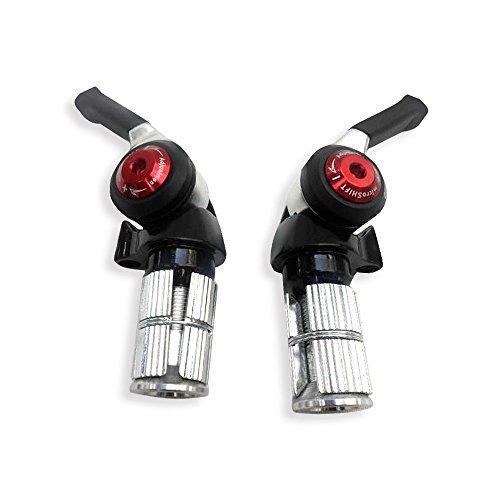 Rasse (begriffsklärung) ® Microshift Schalthebel TT bar end Shifter bs-a102x10/3x 10Speed Shimano kompatibel