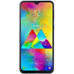 "Samsung Galaxy M20 Smartphone, FHD+ Infinity V Display 6.3"", 4GB RAM, 64GB ROM, Negro [Versión Española]"