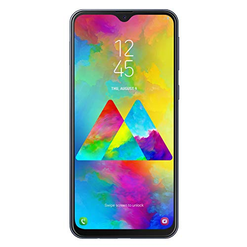 Samsung Galaxy M20 Smartphone, FHD+ Infinity V Display 6.3', 4GB RAM, 64GB ROM, Negro [Versión Española]