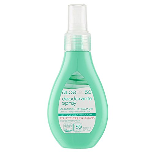 AloeBio50Deodorant Spray AloeBio50–150Gramm (Athena-bad)