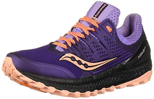 Saucony Xodus ISO 3, Zapatillas de Trail Running para Mujer, Morado Púrpura 37, 39 EU