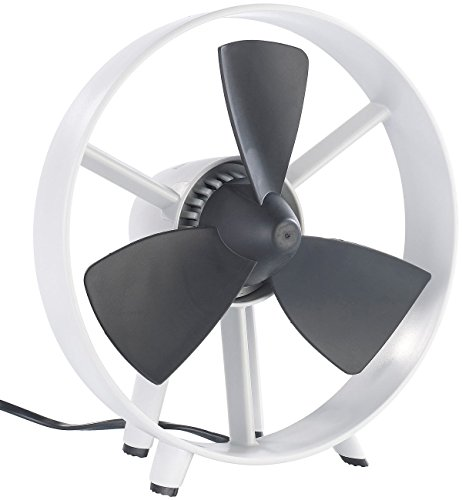 infactory Tischventilatoren: Tisch-Ventilator Streamline im Turbinen-Design, V2, 8