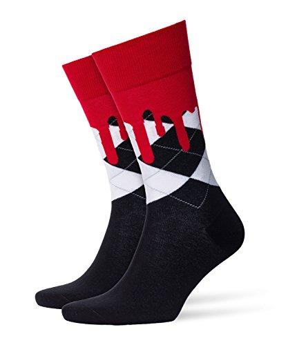 Burlington Herren Socken Bloody Halloween Box, Mehrfarbig (Black -