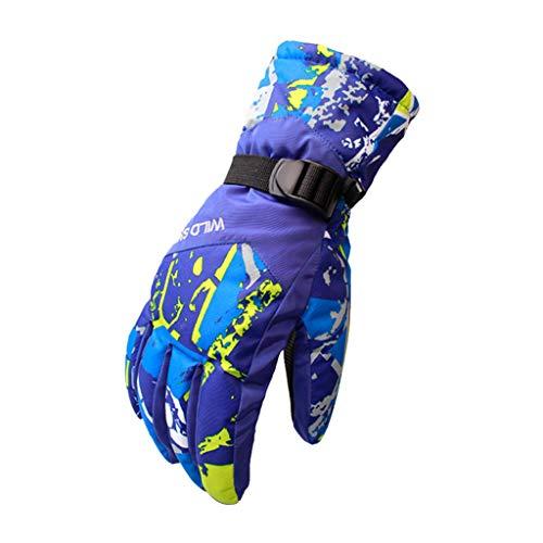 QIMANZI Motorrad Handschuhe Herren Wasserdicht Winddicht Touchscreen Motorradhandschuhe Männer Knöchelschutz Aufprallschutz für Motorrad Radfahren Ganzjährig(G) (Payday 2 Cosplay Kostüm)