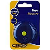 Korbond Retractable Tape 160cm/60inches – Soft Non-Stretch-Large Print-Dressmaking, Crafting, Body Measurements, Tailoring, DIY, Handbag, 160cm