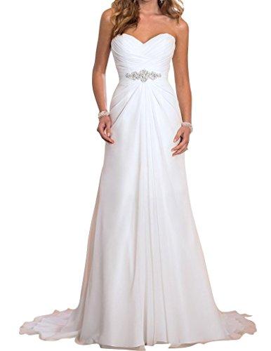 JYDress - Robe - Femme Blanc Blanc Blanc - Blanc